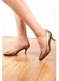 G.Ö.N. Hakiki Deri Ayakkabı Altın
